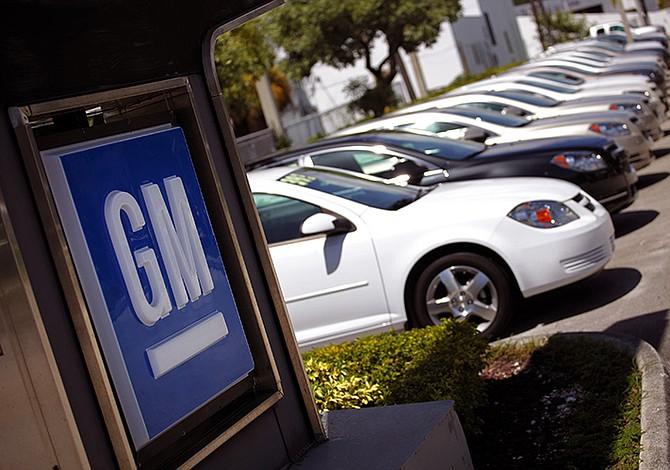 Ventas de General Motors en EE.UU. cayeron un 15,4 %