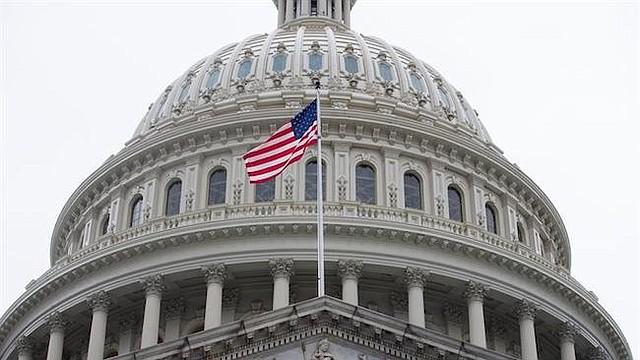 EEUU. Foto de archivo con la vista del exterior del Capitolio, en Washington DC