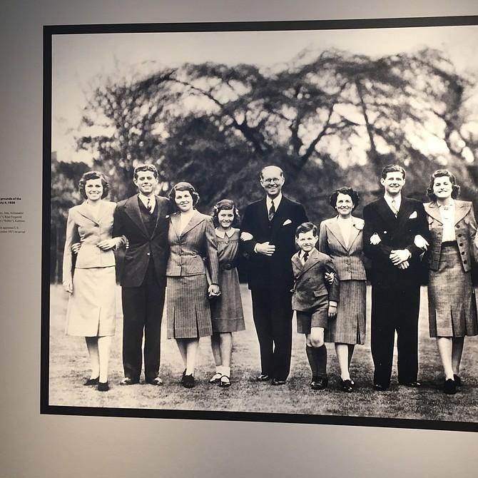 Foto familiar de los Kennedy