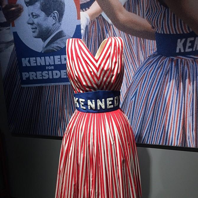 Diseño de vestidos utilizados durante la campaña electoral