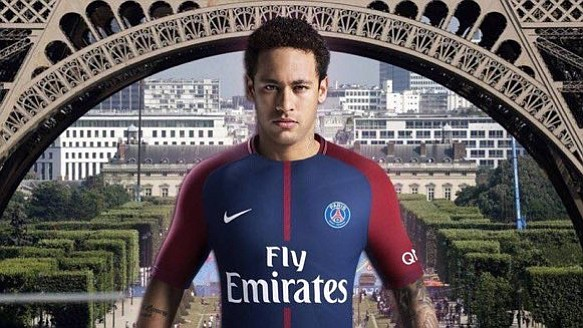 Fanáticos del PSG agotaron las camisetas de Neymar en menos de una hora