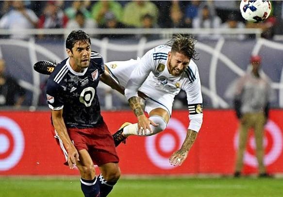 Estrellas de la MLS se preparan ansiosos para enfrentar al Real Madrid el próximo miércoles