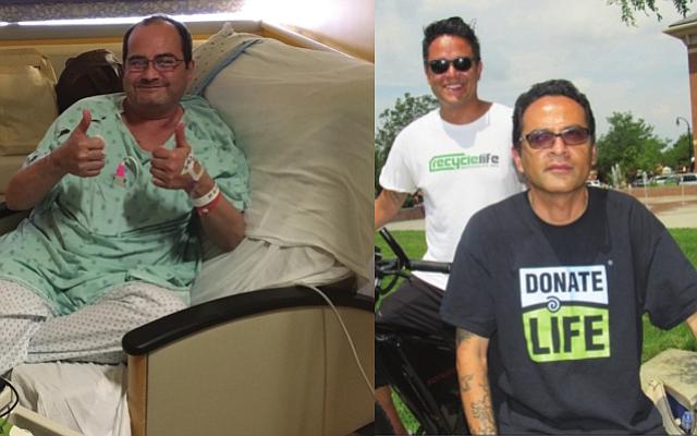 HERMANOS. Carlos Arévalo, David Morgan, y Juan Arévalo, hermanos de origen peruano, y residentes de Virginia recibieron trasplante de corazon y higado