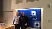 Tony Dottino, fundador de la competencia más importante de memoria en los Estados Unidos de América, y Jim Karol, el hombre con la mejor memoria del mundo