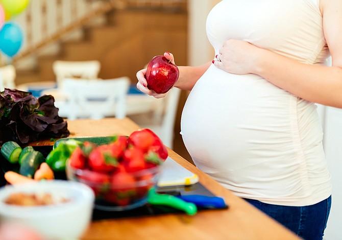 Alimentación recomendada las primeras semanas de embarazo
