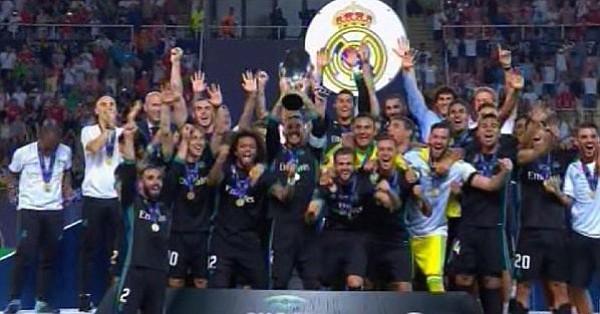 El Real Madrid ganó su cuarta Supercopa