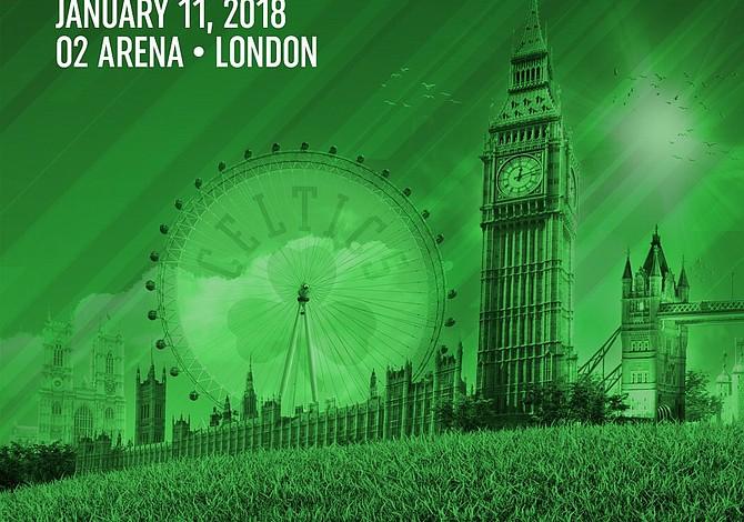 Boston Celtics jugará un partido oficial en Londres frente a los 76ers de Filadelfia