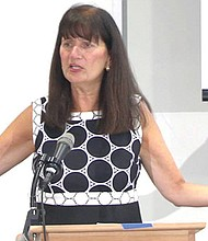 Janice Bellucci, presidenta de California Reform Sex Offender Laws (CRSOL). Foto-Cortesía: Narsol.Inc.