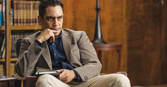 El actor José Zúñiga como Dr. Hotchkiss en The Dark Tower. Foto Cortesía de SONY