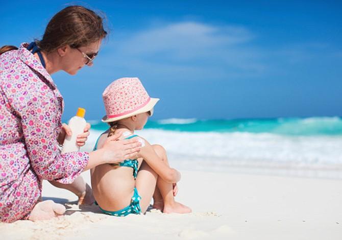 Claves para una buena protección de la piel de los niños en verano
