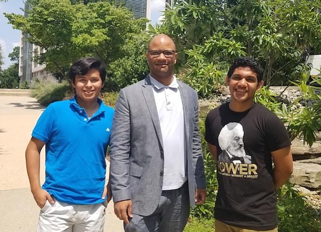 Programa de becados de American University beneficia a jóvenes latinos