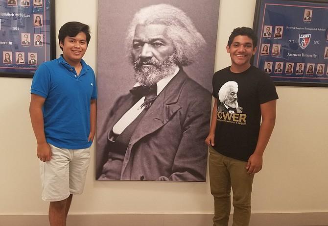 DATO. Al menos 30% de los becados de American University son estudiantes latinos