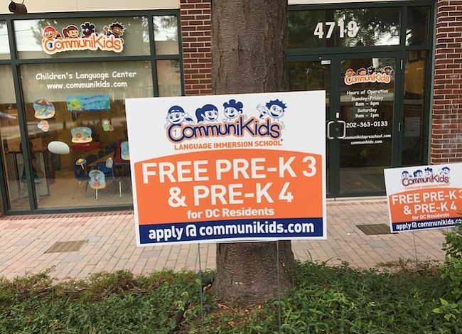 Communikids ofrece preescolar gratis en DC