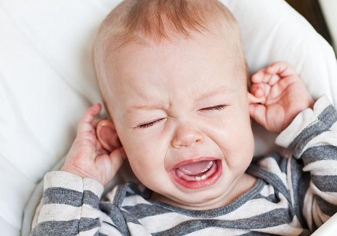 Los bebés británicos son los más llorones