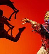 Escena del musical El Rey León
