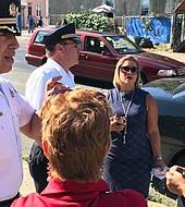 Joanna Otero -Cruz, directora general adjunta de Servicios Comunitarios de la alcaldía de Filadelfia,  ha centrado su trabajo  en la limpieza
