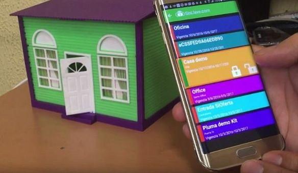 """""""SinLlave"""", la app que permite controlar cualquier puerta con el celular"""