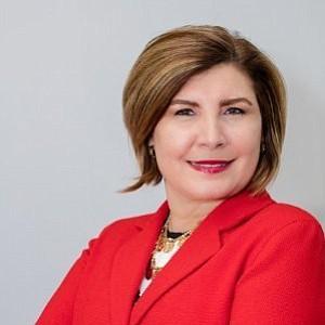 PRESIDENTA. Susana Iribarren-Mariño, Fundadora y Presidenta de la Cámara de Comercio Hispana del Norte de Virginia.