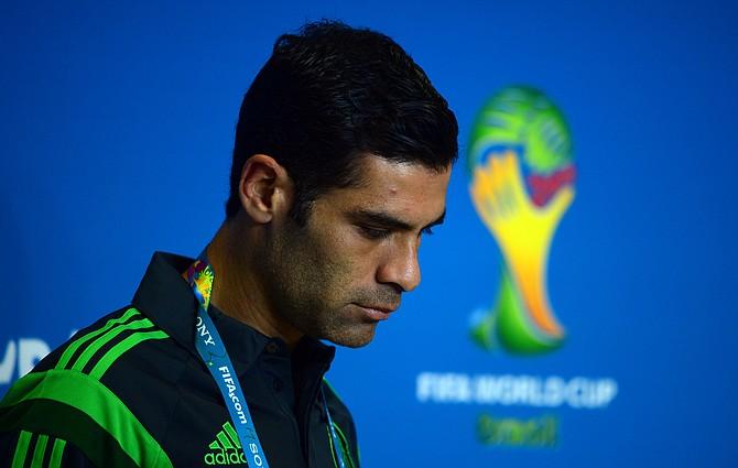 El futbolista Márquez