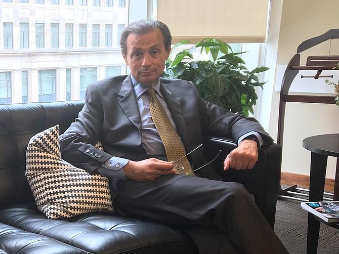 ACADÉMICO. Paolo von Schirach es Presidente del Instituto de Política Global y Profesor en BAU.