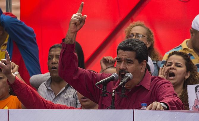 DISCURSO. El Presidente de Venezuela, Nicolás Maduro, sigue afianzando su régimen autoritario que le ha generado el rechazo de la comunidad internacional.