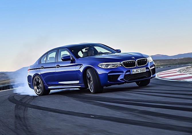 El BMW M5 que robará las miradas en el Salón de Frankfurt