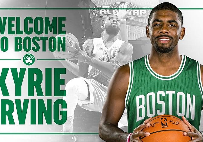 Los Celtics realizaron sorprendente cambio con Cleveland que incluye a Isaiah Thomas por Kyrie Irving