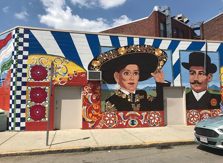 boston hace honor a vernica robles con un mural en east boston