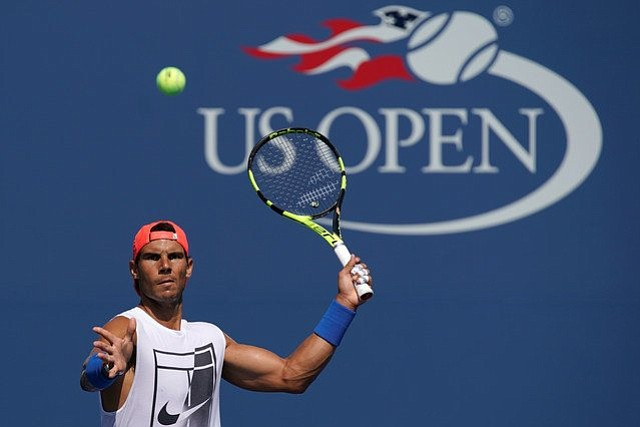Este lunes inicia el US Open con Rafael Nadal como primer cabeza de serie