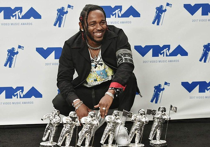 Kendrick Lamar triunfó en MTV Video Music Awards