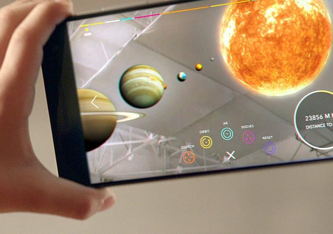 Google presentó plataforma para aplicar realidad aumentada a Android