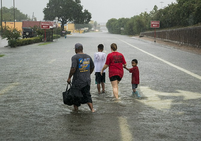 Los números que ha dejado la tormenta Harvey