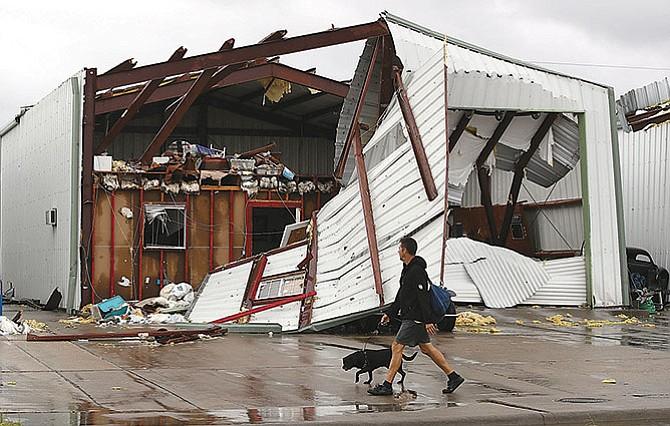 Consecuencias de la furia del huracán 'Harvey'