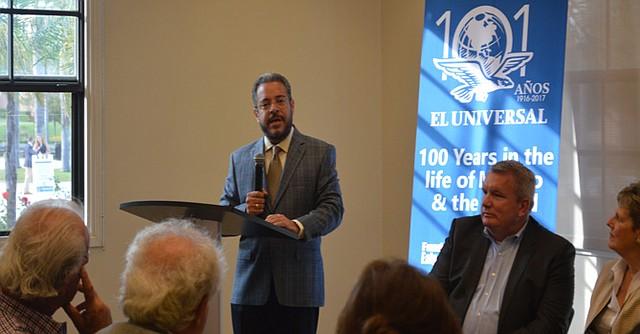 Enrique Bustamante, director de de la Fundación Ealy Ortiz. Foto: Horacio Rentería/El Latino San Diego.