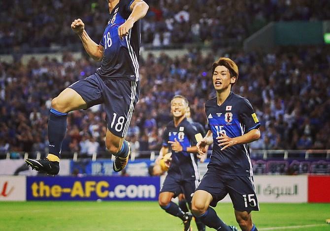 Japón derrotó a Australia y clasificó por sexta ocasión a un mundial de fútbol