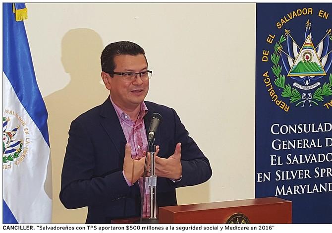 Gobierno de El Salvador no apoya protestas en DC fuera de la ley