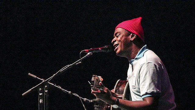 Seu Jorge en el The Howard Theatre, Washington, D.C., en noviembre de 2016
