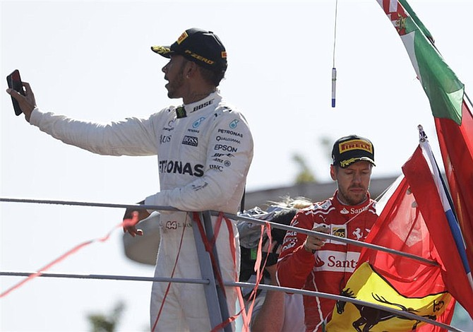 Hamilton leads F1 World Championship after winning Italian Grand Prix
