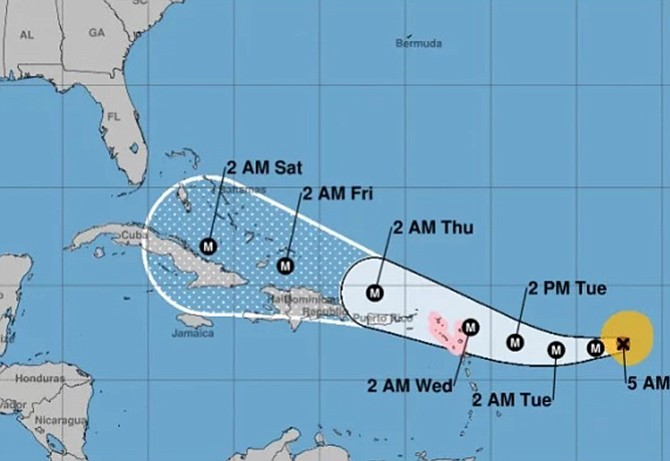 Florida declares state of emergency as Hurricane Irma becomes Category 4