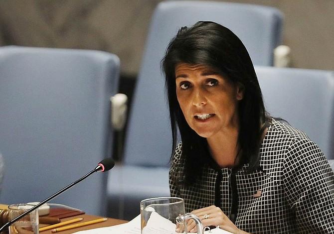 """Haley: Latinoamérica no puede dejar que Gobiernos """"autoritarios"""" la arrastren"""
