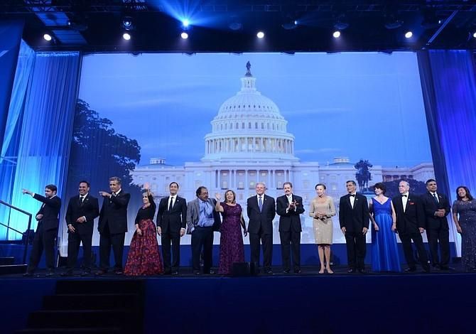 Líderes se reúnen con el CHCI en D.C. para celebrar la herencia hispana y promover la unidad