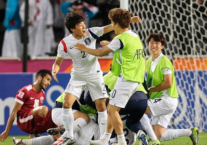 Corea del Sur consiguió su billete para el Mundial