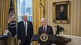 Trump en la juramentación de Sessions como fiscal general