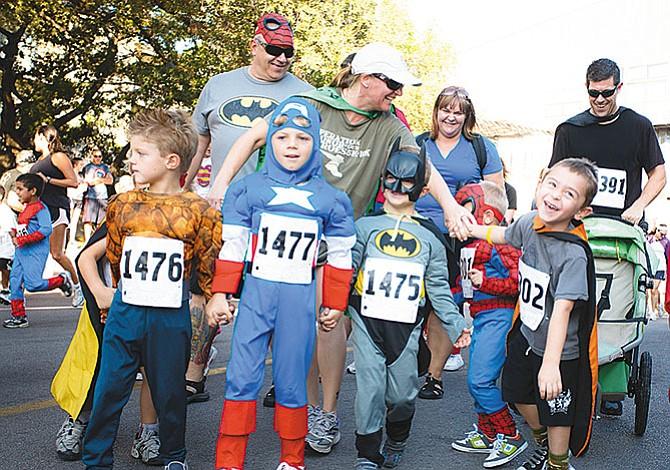 Corriendo como un superhéroe
