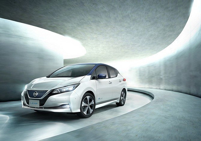Nissan Leaf más atractivo, con 378 km de autonomía