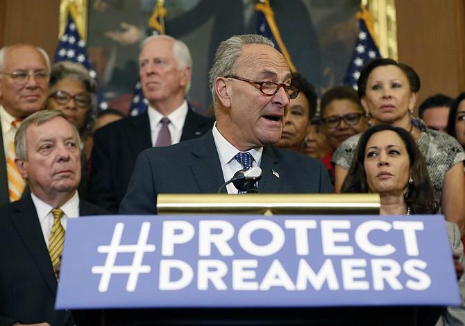 Schumer asks Congress to save DACA this month