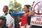 La comunidad de Barrio Logan protegió el Parque Chicano. Foto de Manuel Ocaño