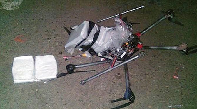 Usan drones para pasar droga  a territorio estadounidense