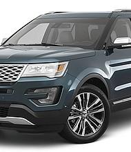Ford Explorer Platinum del 2017