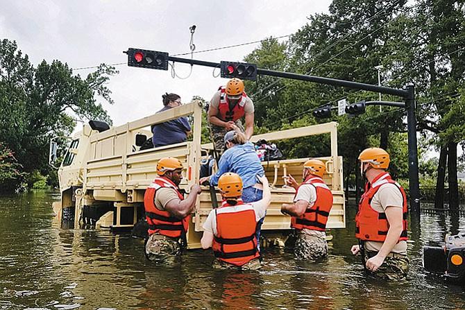 Apoyo total a las víctimas del huracan 'Harvey'